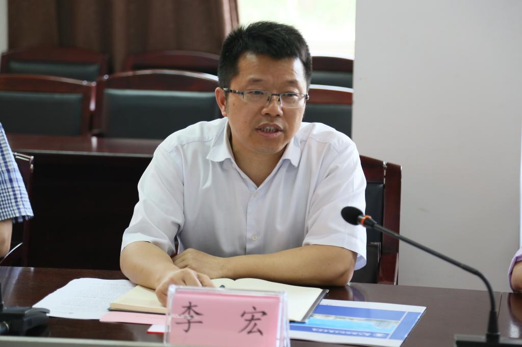 湖北师范大学校长李宏一行来武汉船舶职业技术学院考察交流